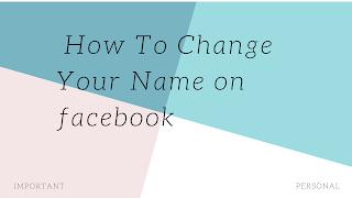 Facebook Your Name