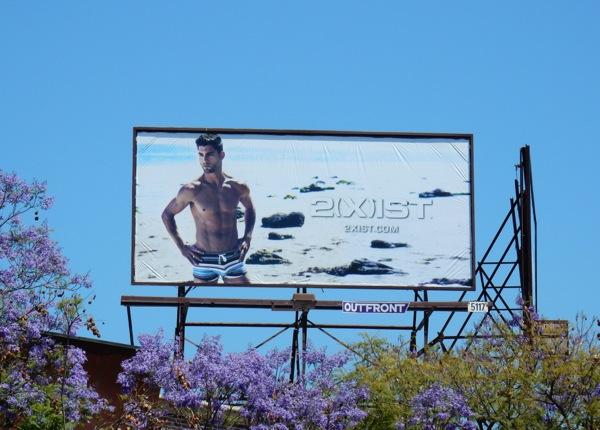 2Xist swimwear billboard