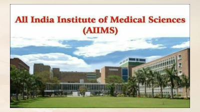 Establishment of three new AIIMS institutes