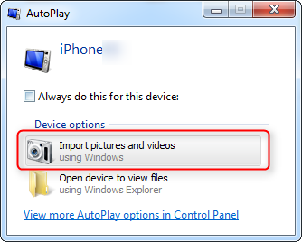 5 Ways to copy / transfer photos from iPhone to Windows PC
