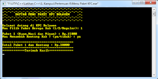 Screenshot Run Program 1