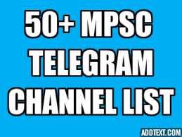 Mpsc telegramChannel List 50+ *2020*