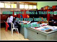 Contoh Format Fungsi & Tugas Pokok Tata Usaha Sekolah Tahun 2017