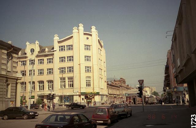 Екатеринбург. Перекресток Вайнера-Малышева
