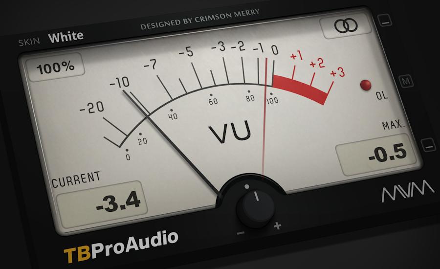 mvMeter2 TB PRO AUDIO