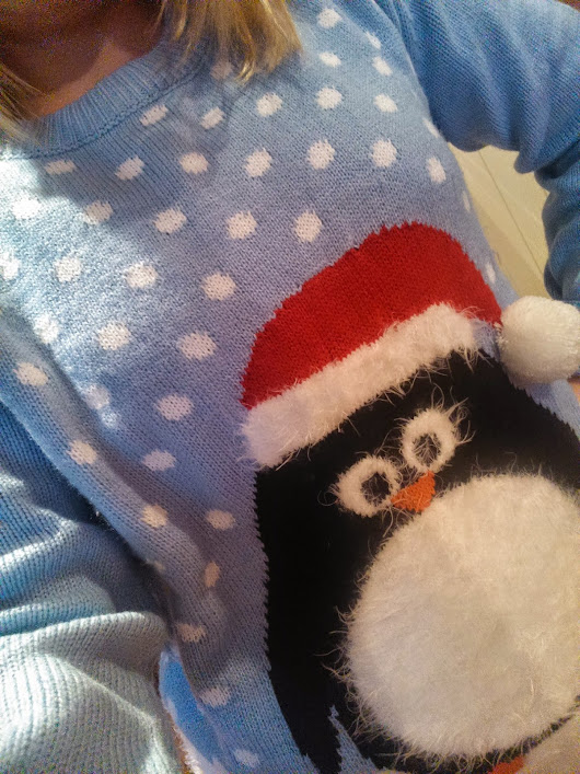Christmas jumpers never disappoint