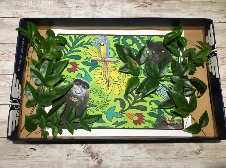 Jungle craft for kids