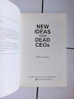 New Ideas From Dead CEOs: Pelajaran Abadi dari Sudut Kantor