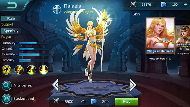 Rafaela, the Wings of Holiness Build, Guide, and Walkthrough