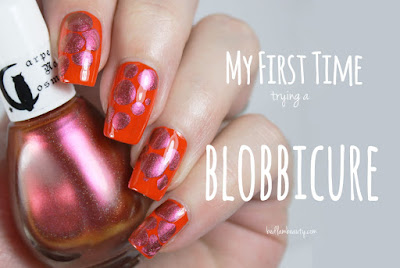 Carpe Noctem Cosmetics + Cult Nails Blobbicure