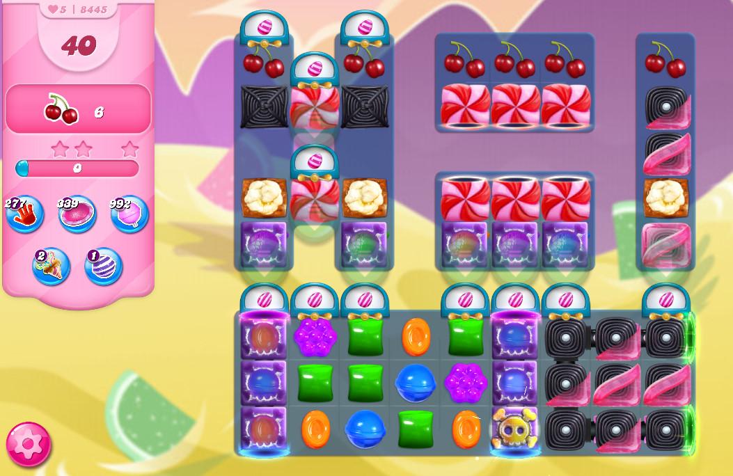 Candy Crush Saga level 8445