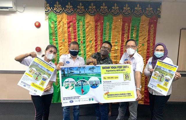 DPD ASITA Kepri Akan Menggelar Batam Yoga Fest 2021