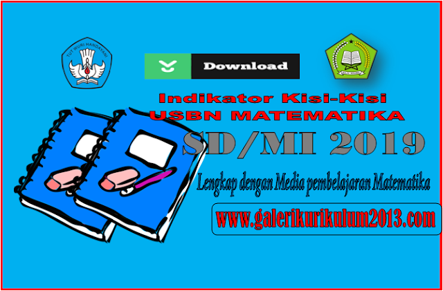Indikator USBN Matematika SD/MI 2019