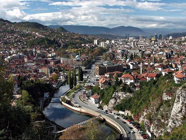 Sarajevo, Bosnia-Herzegovina, nowdays