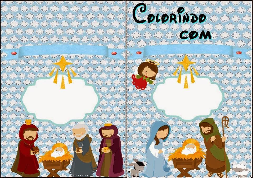Bello Kit para Navidad, para Imprimir Gratis. | Ideas y material ...