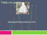 http://www.patronycostura.com/2016/11/falda-con-godets-tema-192.html