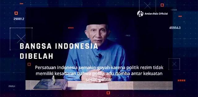 Lusa, Amien Rais Beri Pernyataan 'Jokowi Terus Atau Mundur'