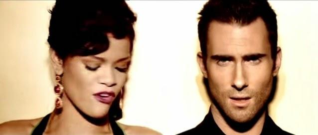 Rihanna and Adam Levine