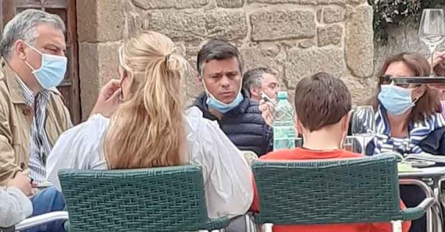 Policía española multó a Leopoldo López por haber viajado a Galicia