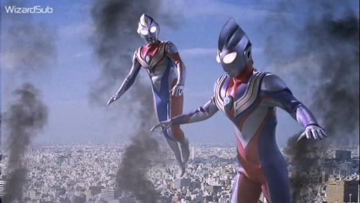 Ultraman Tiga & Dyna The Warriors Of The Star Of Light ...
