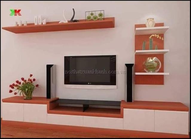 floating shelf tv stand