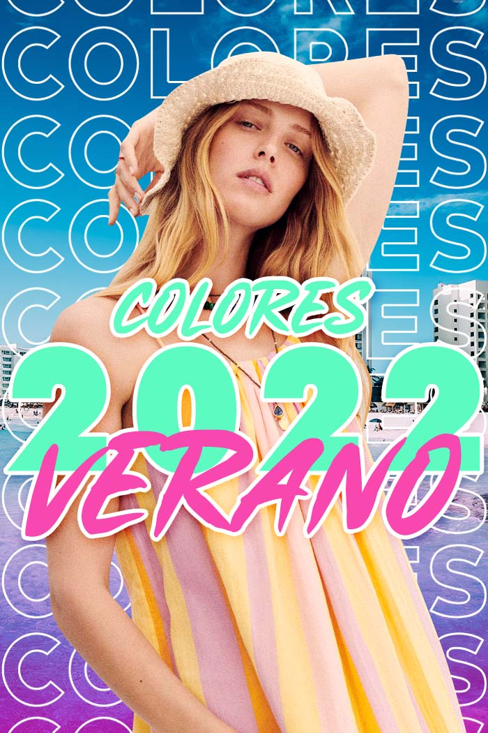 COLORES 2022: Éstos son los colores de moda de la primavera verano 2022