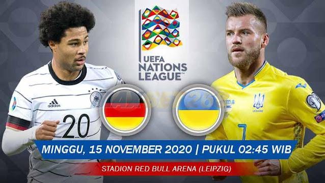 Prediksi Jerman Vs Ukraina, Minggu 15 November 2020 Pukul 02.45 WIB @ Mola TV