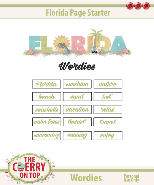 Florida Wordies Freebie