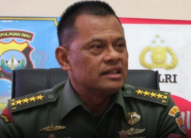 Panglima TNI Tak Pernah Rilis Soal 5.000 Senpi Ilegal