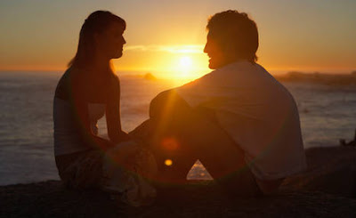 كيف تجعل فتاة انت معجب بها تحبك  رجل فتاة بنت امراة غروب حب رومانسيه صور man woman sunset pictures love