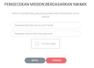 Cek No Indosat secara online