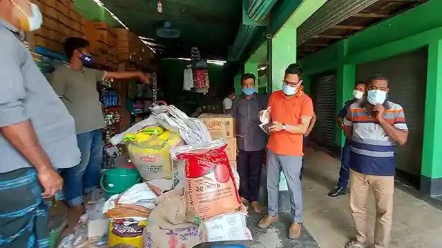 ইসলামপুরে সরকারি নির্দেশনা না মানায় ৪দোকানে জরিমানা