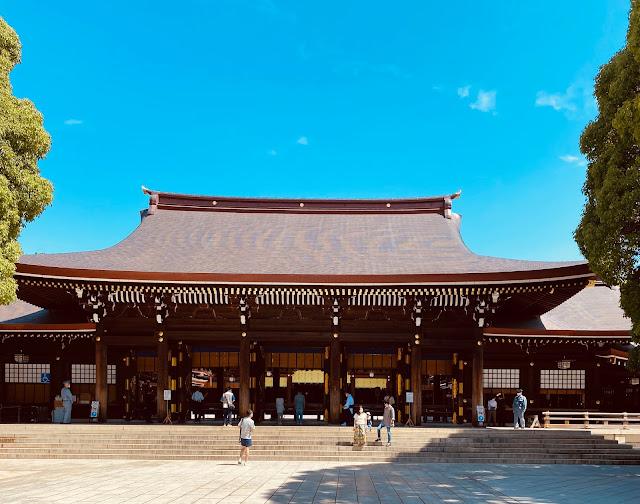 जापान का मेजी श्राइन, मेजी मंदिर टोक्यो, शिंतो धर्म