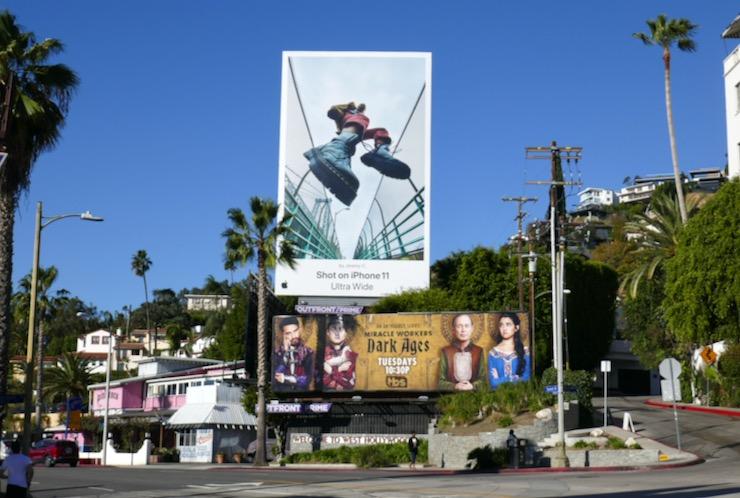 Shot on iPhone 11 Ultra Wide billboard
