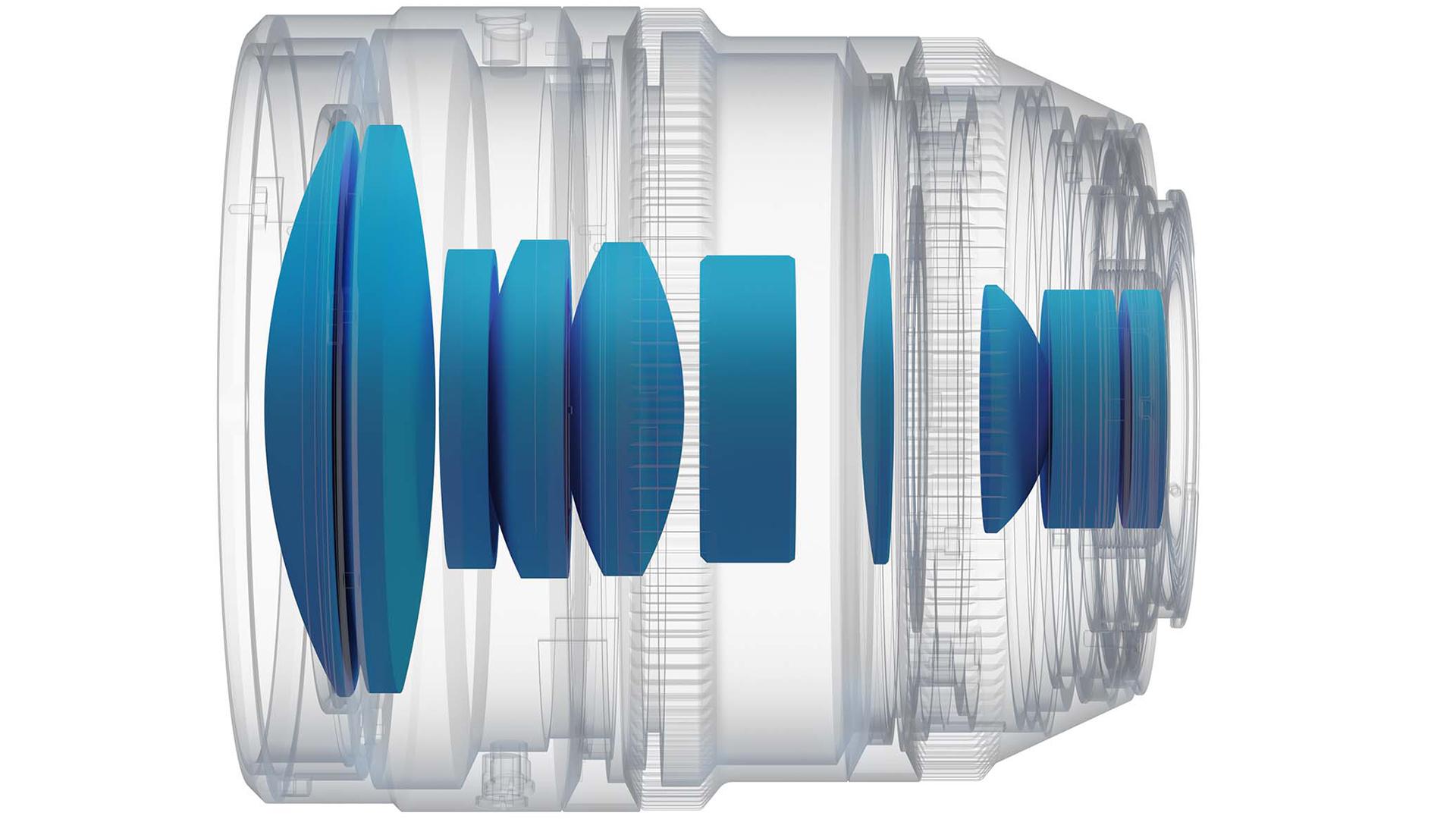 Оптическая схема объектива Irix Cine 30mm T1.5