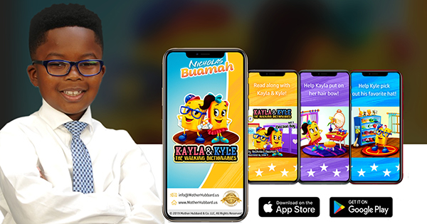 Nicholas Buamah, author and creator of augmented reality app