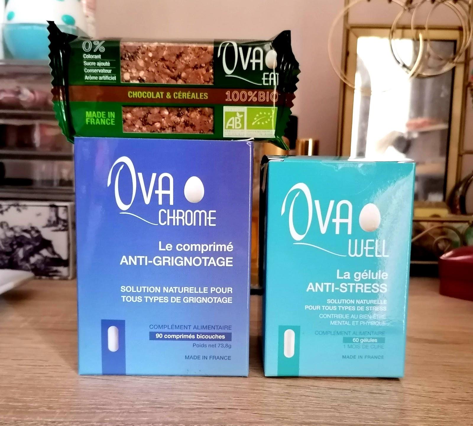 OVAWELL / OVACHROME / OVAEAT : la santé et le bien-être par la nutrition avec Nutreven