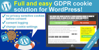 WeePie Cookie Allow v3.2.5 - Easy & Complete Cookie Consent