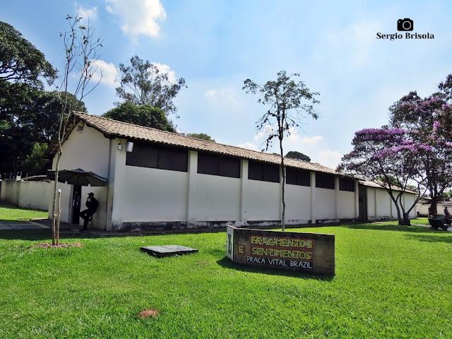 Vista ampla do Museu Histórico do Instituto Butantan - Butantã - São Paulo