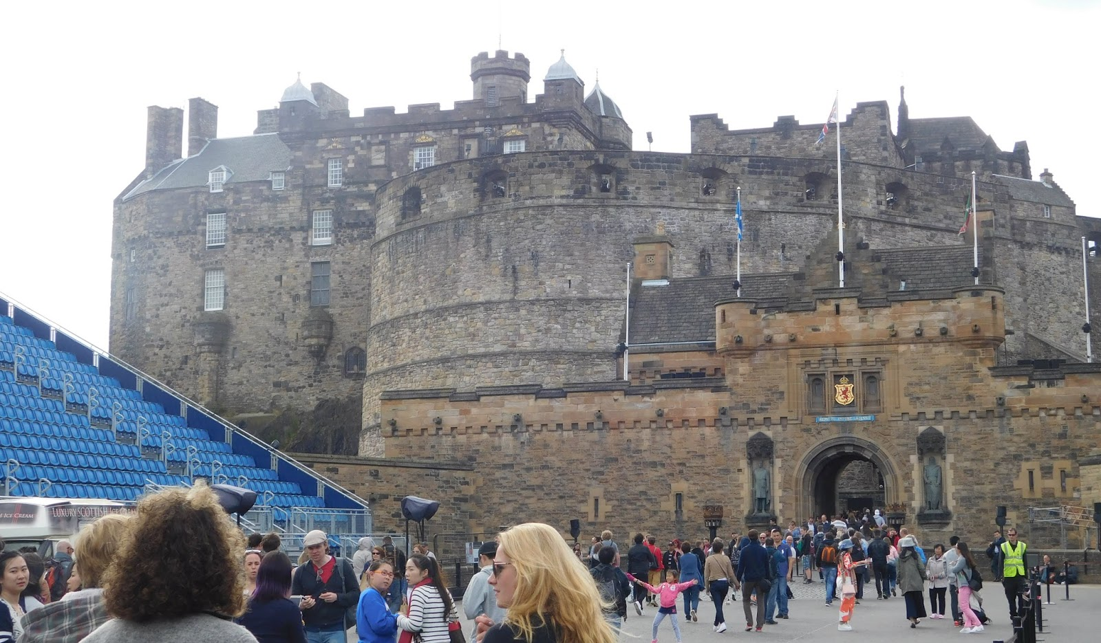 48 Hours in Edinburgh - The Castle 2