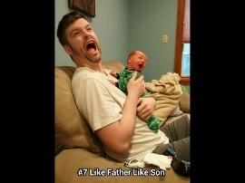 Bayi lucu mirip aliando