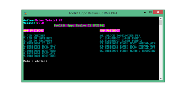 Tutorial Sukses_Ubl-Root-Twrp Oppo Realme c2 RMX 1941(Toolkit)