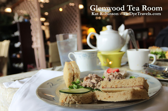 Afternoon Experience with hot tea at Glenwood Tea Room in Shreveport, Louisiana