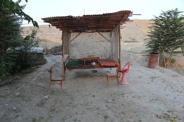 Ouzbékistan, Ferghana, étangs piscicoles d'Alisher, tapchane, tapshan, © L. Gigout, 2012
