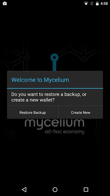 Menggunakan Ledger Nano S dengan Mycelium