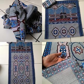 souvenir sajadah lipat sajadah lipat tas-085227655050