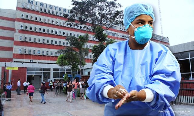 Más de mil trabajadores del hospital María Auxiliadora son sospechosos de COVID-19