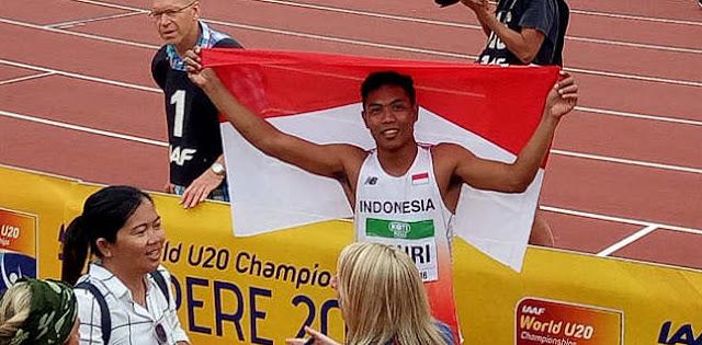 Buntut Wabah Corona, Lalu M. Zohri Batal Ikut Kejuaran Atletik Asia Di China