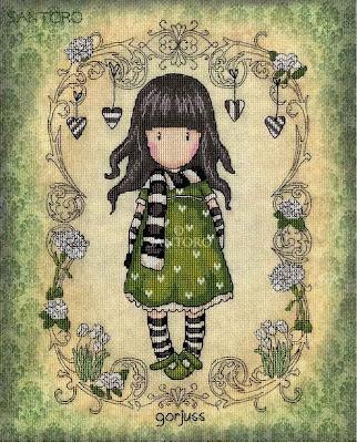 small girl cross stitch patterns