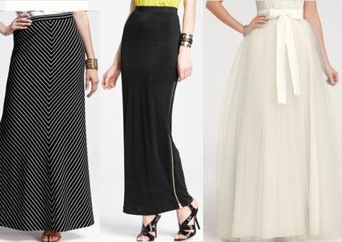57dc9a5d79 El largo ideal para las faldas. En general el largo arriba o hasta la  rodilla es el más favorecedor para todas las personas.